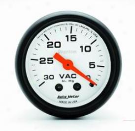 Universal Universal Auto Meter Vacuum Gauge 5784