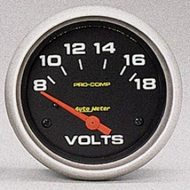 Universal Univerzal Auto Meter Voltmeter Gauge 5492