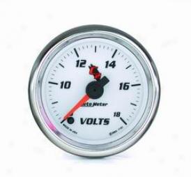 Universal Universal Auto Meter Voltmeter Gauge 7191