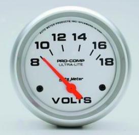 Universal Universal Auto Meter Voltmeter Gauge 4491