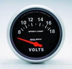 Umiversal Universal Auto Meter Voltmeter Gauge 3592