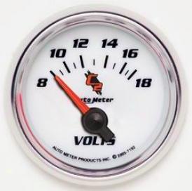 Universal Universal Auto Meter Voltmeter Gauge 7192