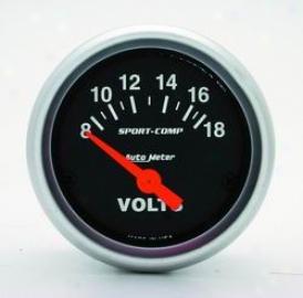 Universal Universal Auto Meter Voltmeter Gauge 3391