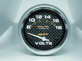 Universal Universal Auto Meter Voltmeter Measure  4891
