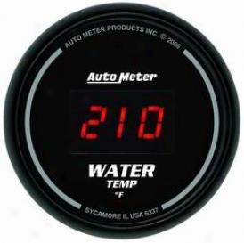 Universal Universal Auto Meter  Water Temperatue Gauge 6337