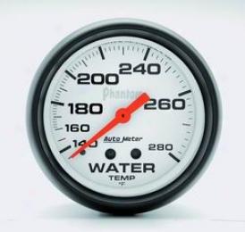 Universal Universal Auto Meter Water Temperature Gauge 5831