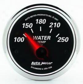 Universal Universal Auto Meter Water Temperature Gauge 1238