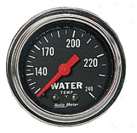 Universal General notion Auto Meter Water Temperature Gauge 2432