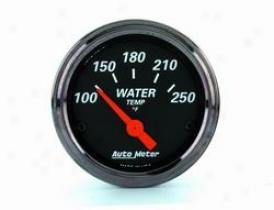 Universal Universal Auto Meter Water Temperature Gauge 1436