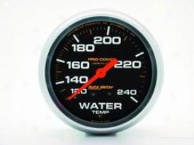 Universal Universal Auto Meter Water Temperature Gauge 5432
