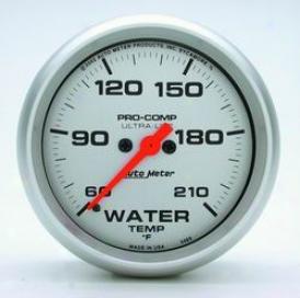 Universal Universal Auto Meter Water Temperature Gauge 4469