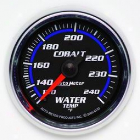 Total Universal Auto Meter Water Temperature Gauge 6132