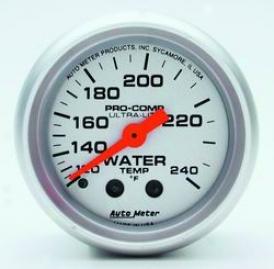 Universal Universal Auto Meter Water Temperature Gauge 4332