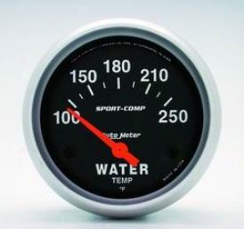 Universal Universal Auto Meter Water Temperature Gauge 3531