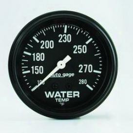 Universal Universal Auto Meter Water Temperature Gauge 2313