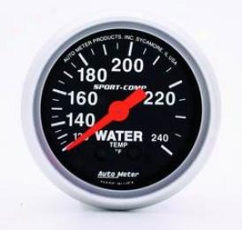 Universal Universal Auto Meter Water Temperature Gauge 3332