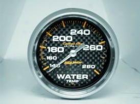 Universal Universal Auto Meter  Irrigate Temperature Gauge 4831