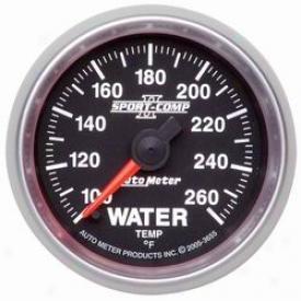 Universal Univerzal Aut Meter Water Temperature Gauge 3655