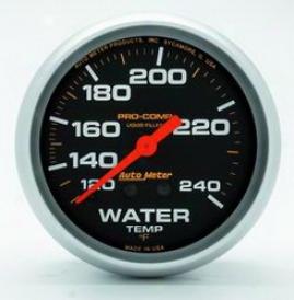 Universal Universal Auto Meterr Water Temperature Gauge 5433