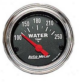 Universal Universal Auto Meter Water Temperature Gauge 2532