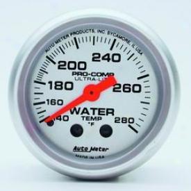 Universal Universal Auto Meter Water Temperature Gauge 4331
