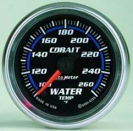 Universai Universal Auto Meter Water Temperature Gauge 6155