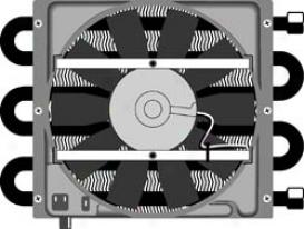 Universal Universal Flex-a-lite Auto Trans Oil Cooler 45951