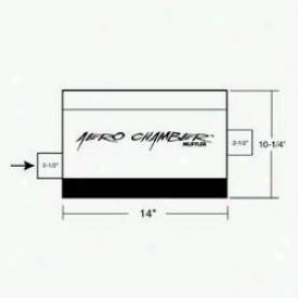 Universal Universal Hooker Headers Muffler 21502