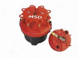 Universal Universal Msd Ignition  Distributor Cap & Rotor 8445