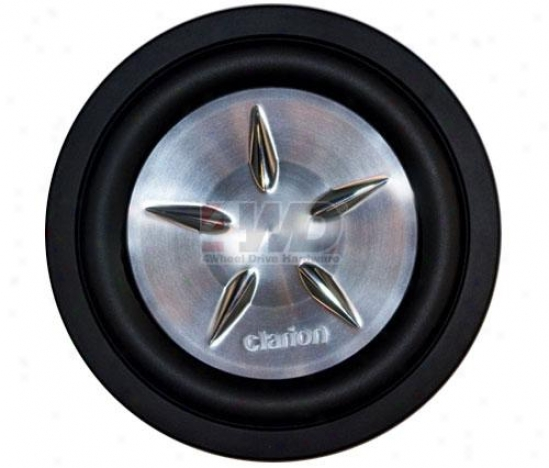 10? Srw Single Vc Subwoofer By Clarion