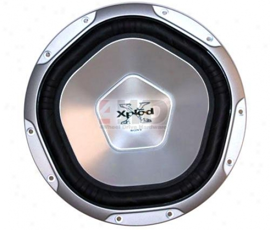 12? Aluminum Cone Subwoofer By Sony