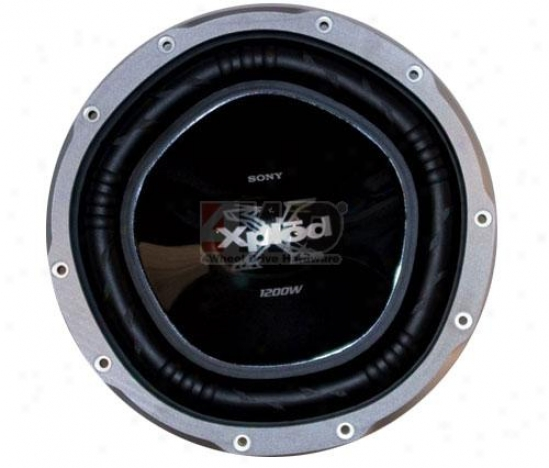 12? Capless Subwoofer By Sony