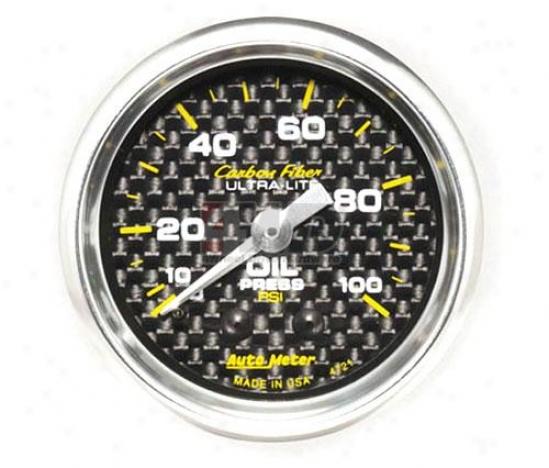 2-1/16? Mechanical Oil Pressure Gauge By Auto Meter
