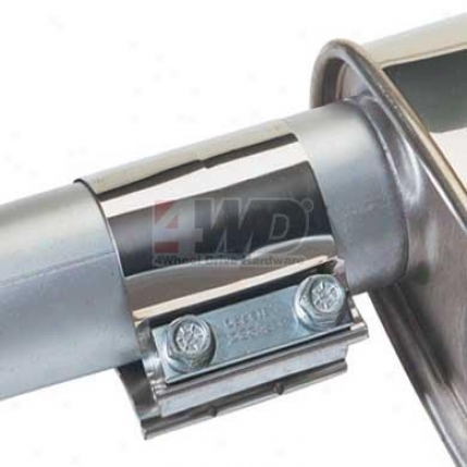 """2-1/4"""" Stainless Steel Strap Band Clamp By Dynomax"""