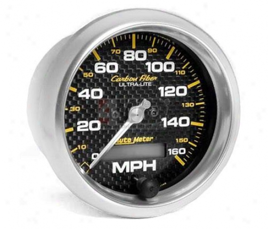 3-3/8? Speedometer Eletric Programmable By Auto Meter