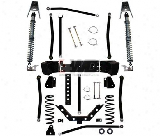 3.5? X-factor Plus Comp Long Arm Suspension System By Rock Krawler