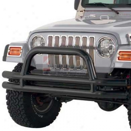 "3"" Front Tube Bumper With Hoop At Smittybilt"