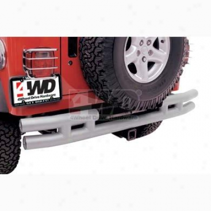 "3"" Rear Double Tube Bumper Without Hitch By Smittybilt"