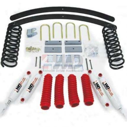 3&q8ot; Suqpension System Through  4wheel Drive Hardsare