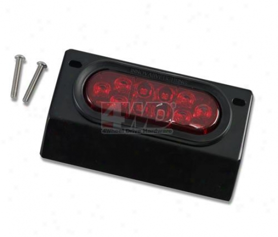 3rd Brake Light Bracket And Led Light By Warrior Products
