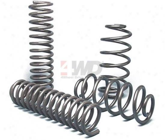 "4"" Lift Coil Springs By Currie Enterprises"