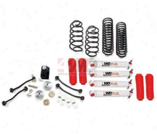 4? Phase I Rise Kit By 4wheel Drive Hardware