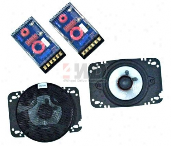 4 X 6? Platinum Series Speaker By Clarion