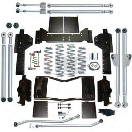 "4.5"" Zj Extreme Duty Long Arm Suspension System By Rubicon Express"