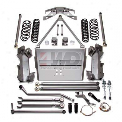 "4"" Lony Arm Performance Suspension System By Full Traction"