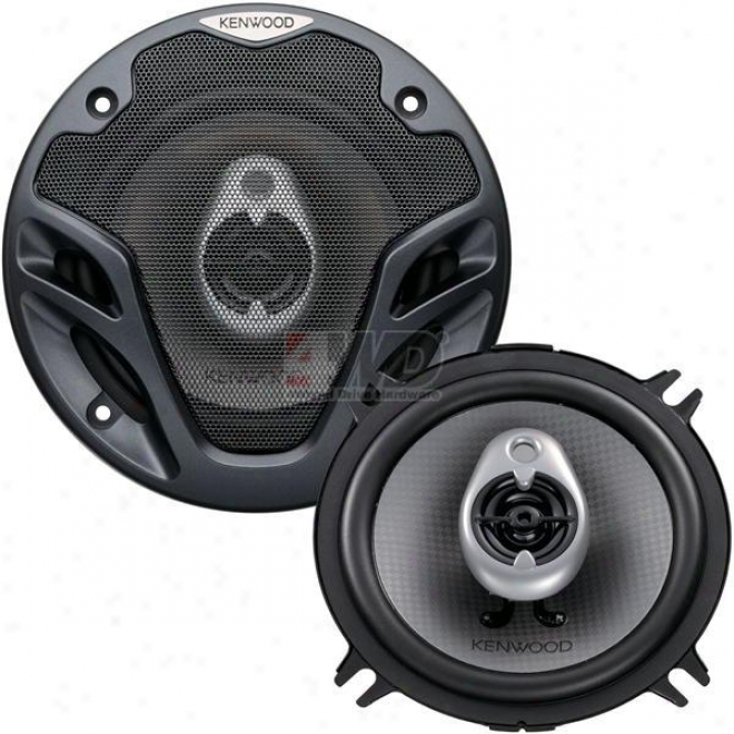 5-1/4? 3-way Speaker By Kenwood