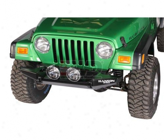 "52"" Rubicon Series Basic Front Bumper By Hanson Offroad"