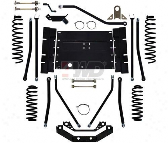 5.5? Triple Threat Long Arm Suspension System By Rock Krawler