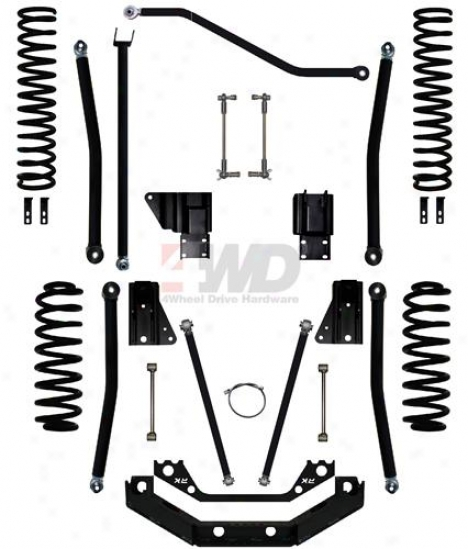 5.5? X-factor Plus Long Arm Suspension System By Rock Krawler