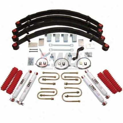 """5"""" Suspension System By 4wheel Drive Hardware"""